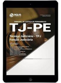 Rateio Apostila Digital Tjpe - Técnico Judiciário