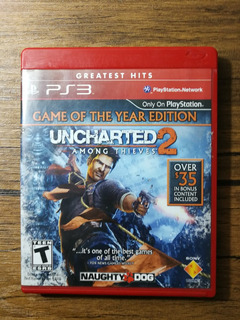 Uncharted 2 Goty Playstation 3 Ps3 Gran Estado !!