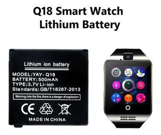Bateria Q18 Relógio Inteligente Smartwatch 500mah 3.7v