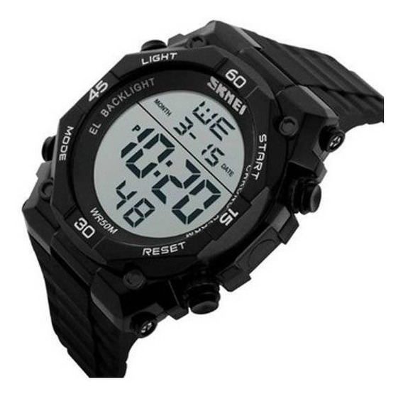 Relógio Masculino Skmei Digital 1130 Pt D48