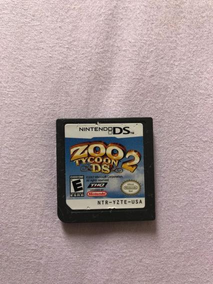 Zoo Tycoon 2 Ds Nintendo Ds Cartucho Original