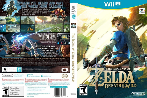 The Legend Of Zelda Breath Of The Wild-pc-português-digital