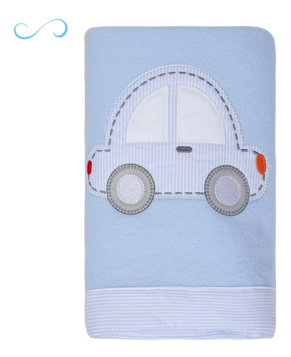 Manta Para Bebê Cobertor Infantil Macia Quentinha Papi Toys