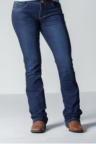 Calca Jeans Feminina Flare -soft Wash