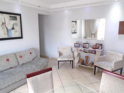 Apartamento Com 3 Dormitórios À Venda, 112 M² Por R$ 490.000,00 - Campo Grande - Santos/sp - Ap0758