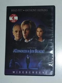 Conoces A Joe Black? ( Dvd Original Seminuevo ) Hopkins Pitt