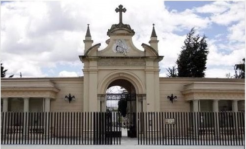 Boveda Zona Antigua, Cementerio Central