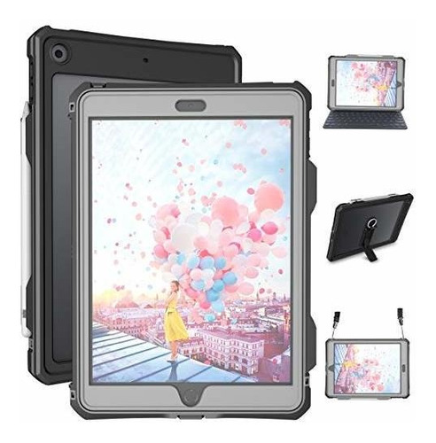 Estuche iPad 10.2 - Estuche iPad A Prueba De Agua De 7a Gene