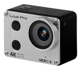Camera Goal Pro Hero 6 Sport 4k Lcd Wifi Brinde 32gb Clas10