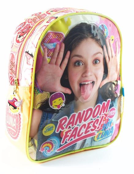 Mochila Espalda Jardin 12 PuLG. Disney Soy Luna Mundo Team