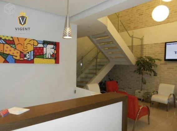 Excelente Sala Comercial Para Locação No Anhangabaú Em Jundiaí - 18 M², Infra Completa, Recepção, Sala De Espera, Cozinha, Estacionamento P/ Clientes! - Sa0260