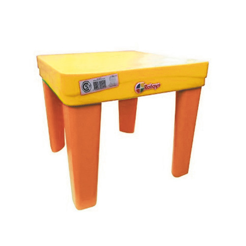 Mesa Reforzada Para Niños Rotoys Original Amarilla