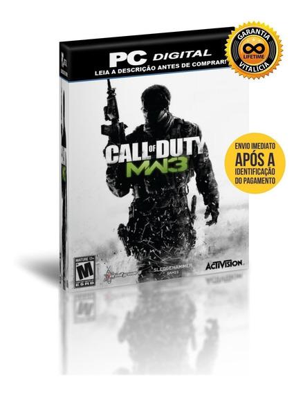 Call Of Duty Modern Warfare 3 + Todas Dlcs - Pc + Brinde