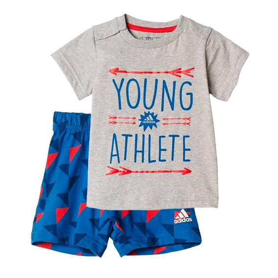 Conjunto Playera Con Short Fun Summer Bebe adidas Ce9761