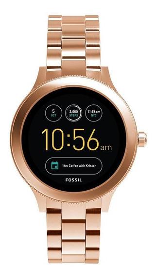 Smartwatch Fossil Feminino Rosé Ftw6000/1ji