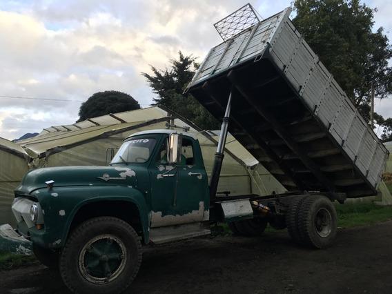 Camion Volqueta Ford