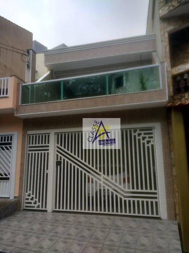 Sobrado Com 3 Dormitórios À Venda, 244 M² Por R$ 750.000,00 - Jardim Pedroso - Mauá/sp - So0087