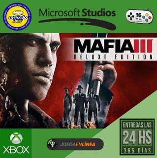 Mafia 3 Deluxe - Xbox One - Modo Local
