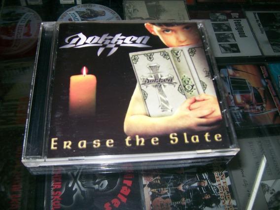 Dokken - Erase The Slate - Cd Ed Original Usa 1999 -
