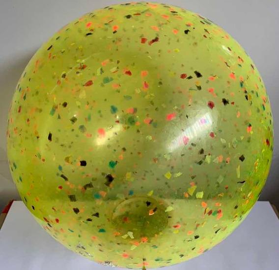 50 Bolao De Praia Confete 40cm Lembrançinha Aniversário