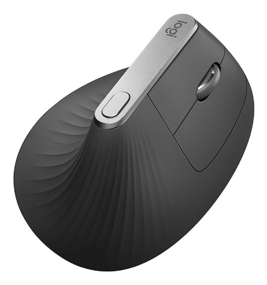 Mouse Laser Logitech Mx Vertical Recarregavel Notebook Bluetooth Unifying Sem Fio 4 Botões Flow Macbook Grande