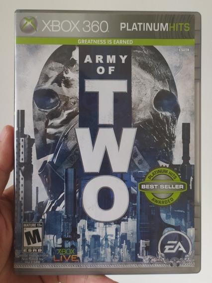 Jogo Army Of Two 1 Original Mídia Física Xbox 360