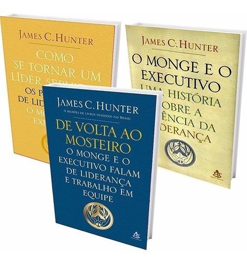 Kit Livros O Monge E O Executivo (3 Livros) #