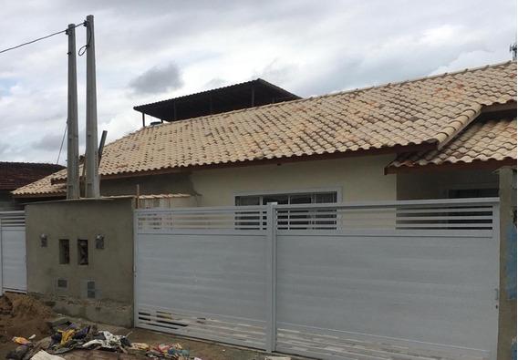 Casa Na Praia Com 02 Quartos Em Itanhaém/sp 6357-pc