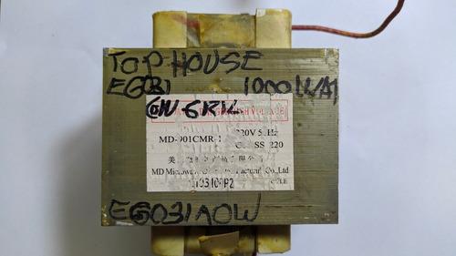 Transformador Para Microonda Tophouse Eg031aow Con Gril