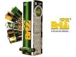 Pilhas Aa Br55 Caixa Com 60 Pilhas Kit 10