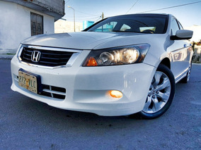 Honda Accord 2008 Ex V6 Piel Abs Qc Cd Posible Cambio