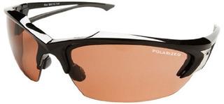 Edge Eyewear Tsdk215 Khor Safety Glasses, Black With Polariz