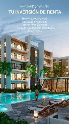 Vendo Apartamentos 2 Habitaciones En Punta Cana