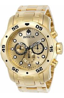 Invicta 0074 Reloj Para Buce Profesional,con Cuarzo, Suizo,