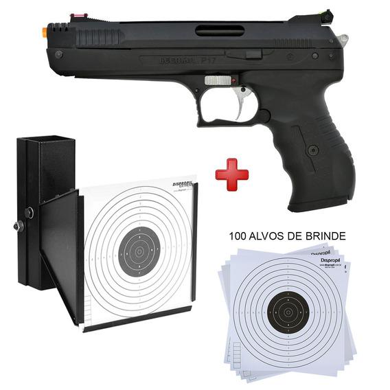 Pistola Pressão Beeman 2004 P22 5.5 + Coletor E Alvos Brinde
