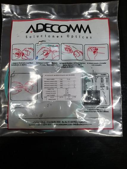 Adecomm Patchcord Fo Mm/dx 50/125u Ptc Lc/pc-sc/pc Om-4x002m