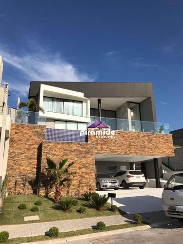 Casa À Venda, 495 M² Por R$ 2.200.000,00 - Urbanova - São José Dos Campos/sp - Ca3409