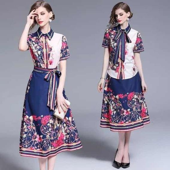 Conjunto Elegante Falda Y Blusa Mercadolibre Com Mx