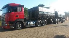 Scania R440 6x4 Com Rodocaçamba 7 Eixos
