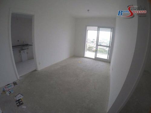 Imagem 1 de 19 de Apartamento Com 1 Dormitório À Venda, 49 M² Por R$ 440.000,00 - Tatuapé - São Paulo/sp - Ap1776