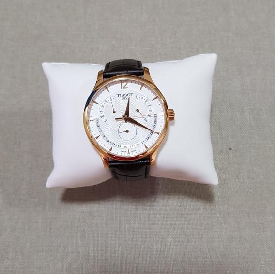 Relógio Tissot Tradition Perpetual Calendar T063637a Dourado