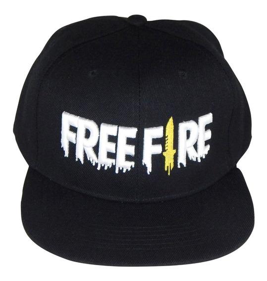 Free Fire Gorra Juego Moda Gamer Plana Snapback Bordado 3d