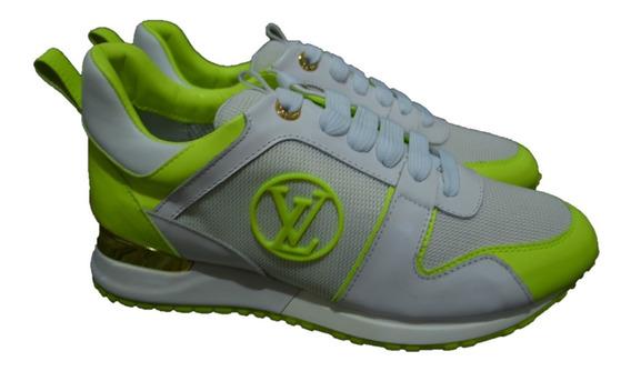 Tenis Sneakers Louis Vuitton Dama, Envío Gratis