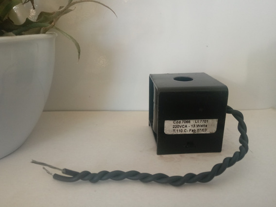 Bobina Solenóide 220vca - 13 Watts 12mm