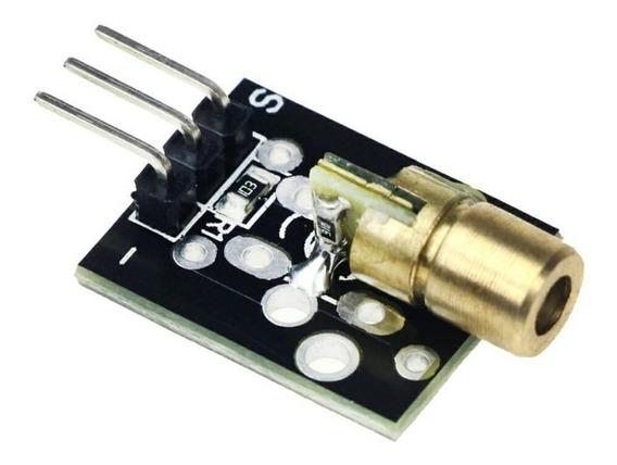Laser Head Ky-008 Diodo 5mw 650nm Lente Arduino Pcbre- A0102