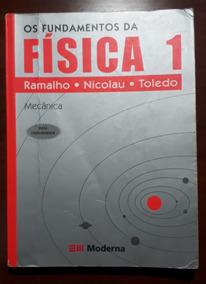 Livro Os Fundamentos Da Física 1 Mecânica - Ramalho