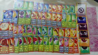 Tarjetas Cartas Pokemon Solo Lote