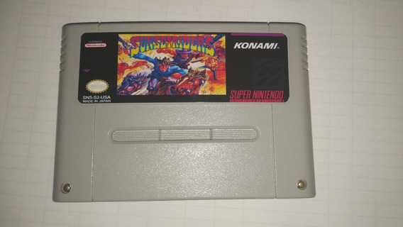 Sunset Riders E Wild Guns Super Nintendo - Snes