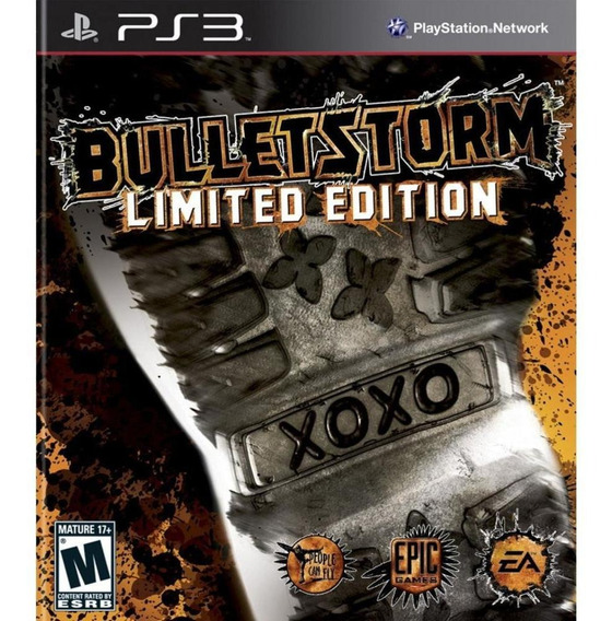 Bulletstorm Limited Edition Ps3 Mídia Física Novo Original