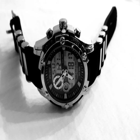Relógio Masculino Esportivo Prova D Água Original Militar